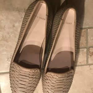 Cole Haan Shoes - New Cole Haan Blush Leather Flats 8.5